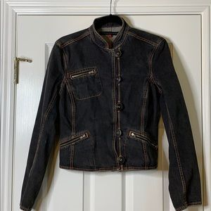 French Connection Denim Buttoned Jacket